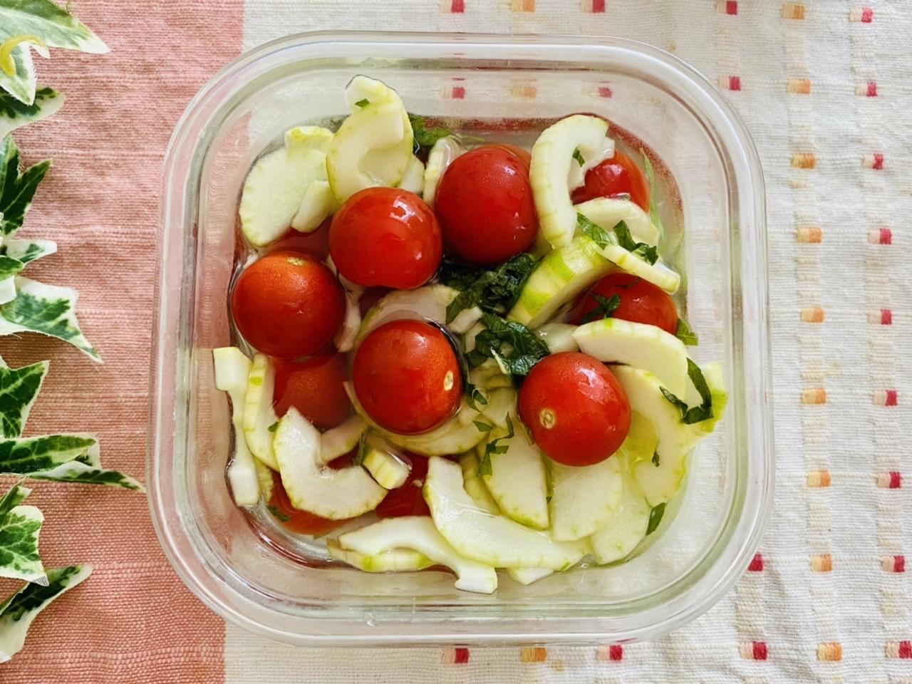 白瓜とトマトのピクルス