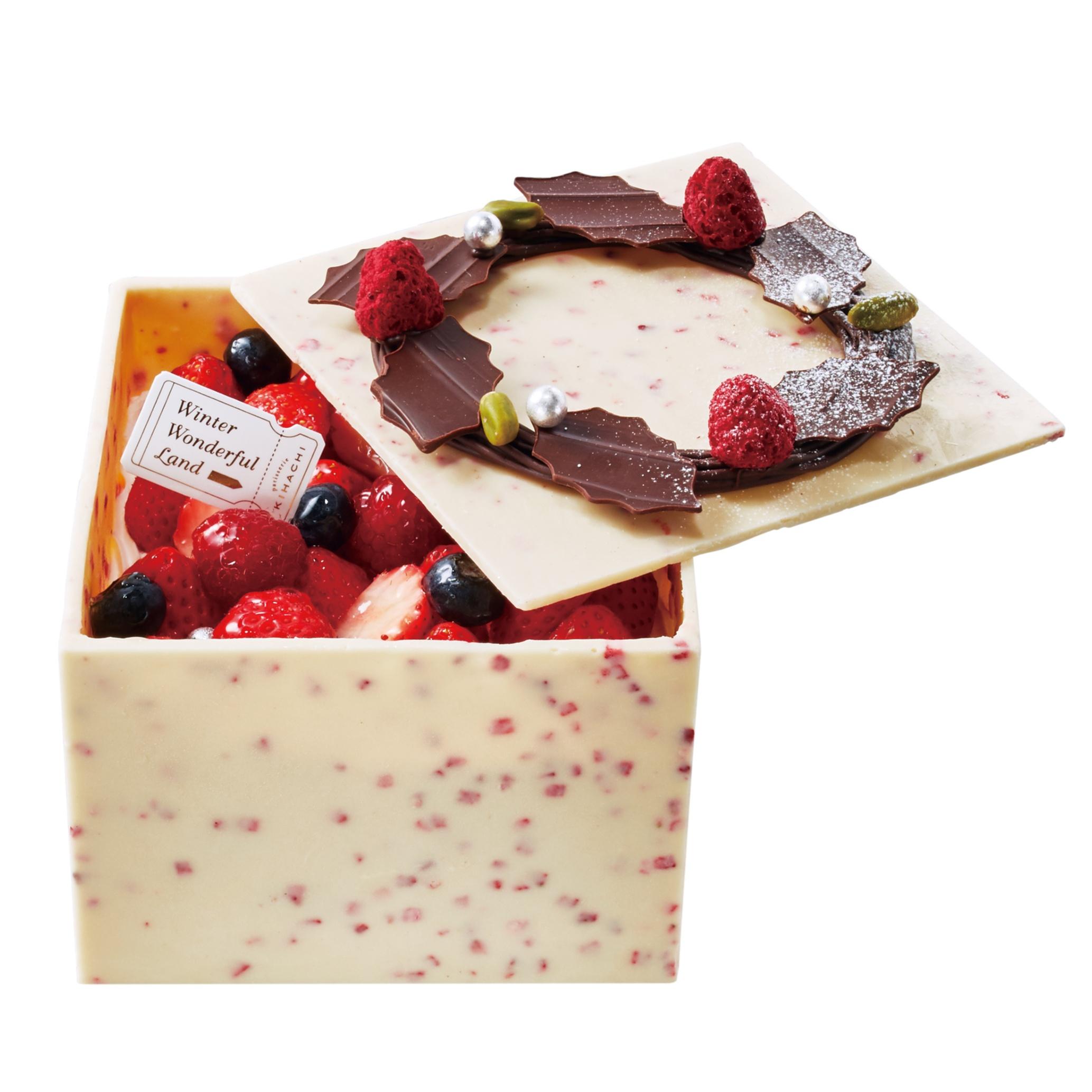 毎年おなじみのBOX型ケーキが今年も♡ 『パティスリー キハチ』のクリスマスケーキ、どれにする?【予約受付中&数量限定!】_1_1