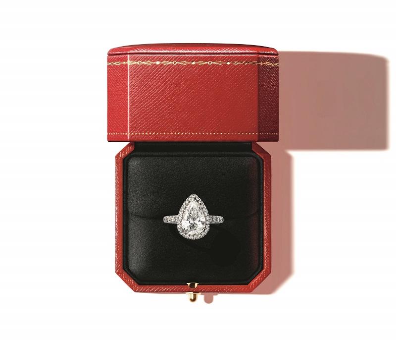 カルティエのダイヤモンドリング
