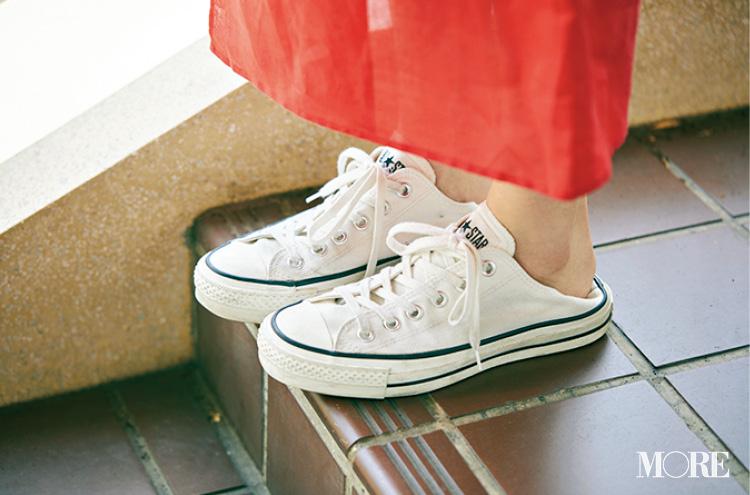 高橋愛さん(身長154cm)はぺたんこ靴でもきれいにおしゃれ♡ その秘密って?_5
