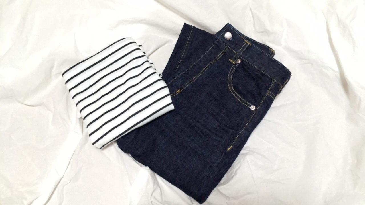 【GU】神デニム♡ハイウエストストレートジーンズをやっと購入!_1
