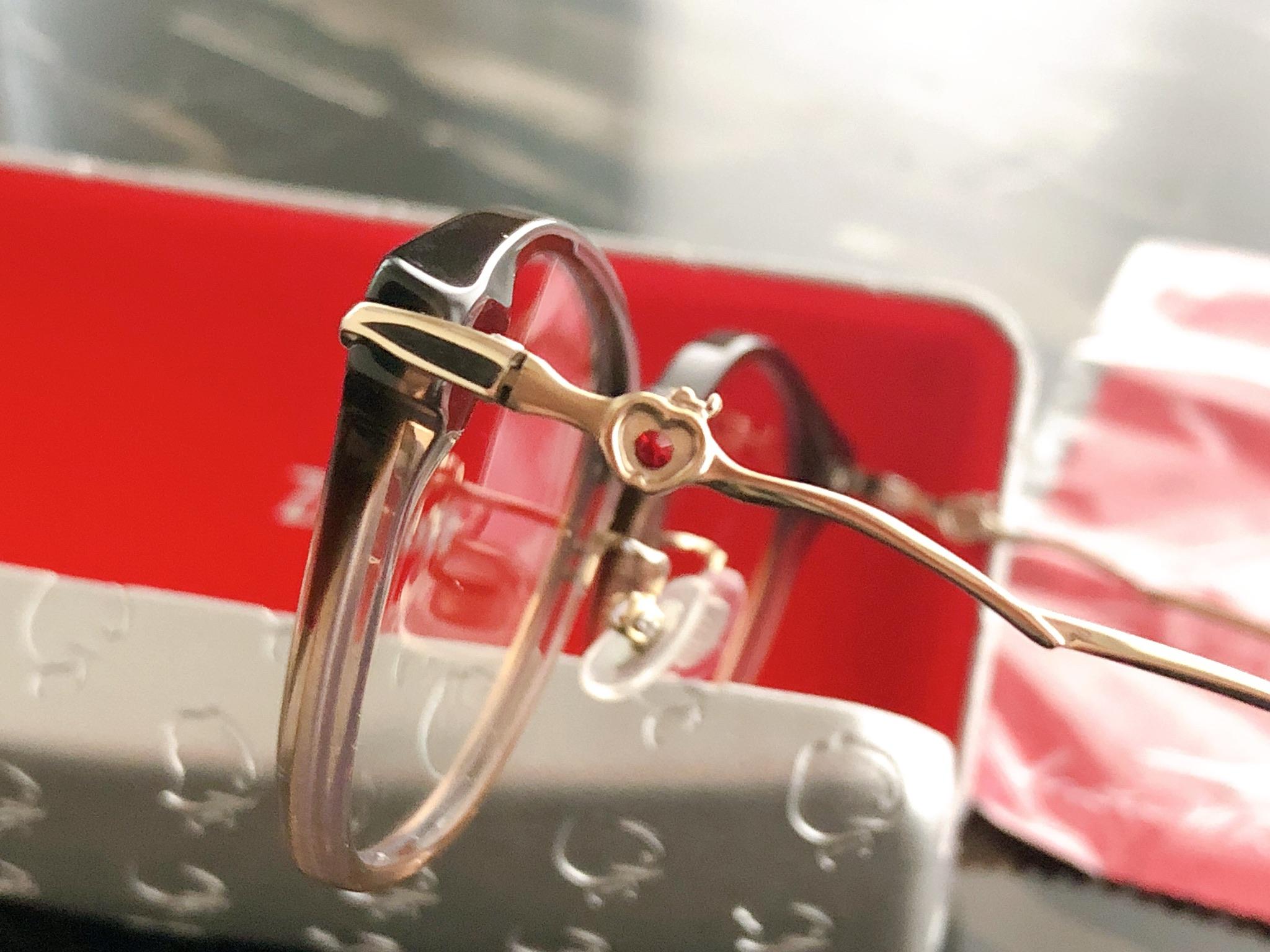 【Zoff】アクセサリーみたいな可愛さ♡ディズニープリンセスのメガネに一目惚れ(๑>◡<๑)! ブルーライトカット仕様は追加料金0円!_2