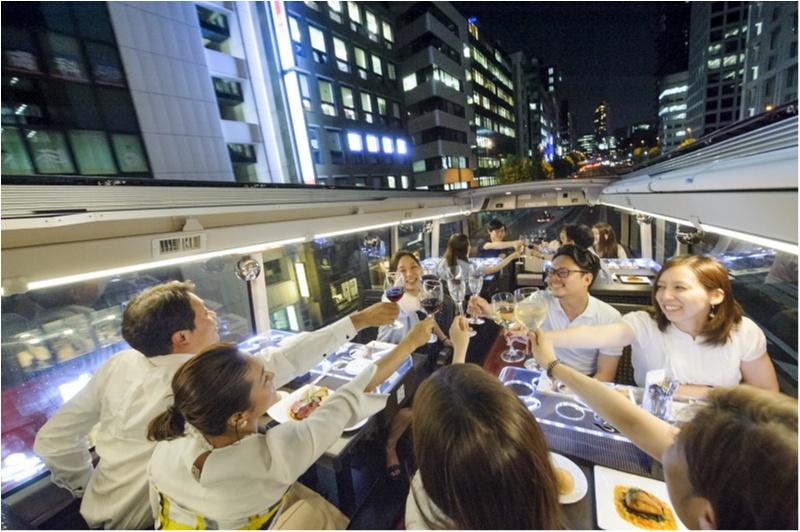 えっ? 今度の女子会はバス??  「東京レストランバス」で、非日常とグルメを堪能しましょ♪_2_4