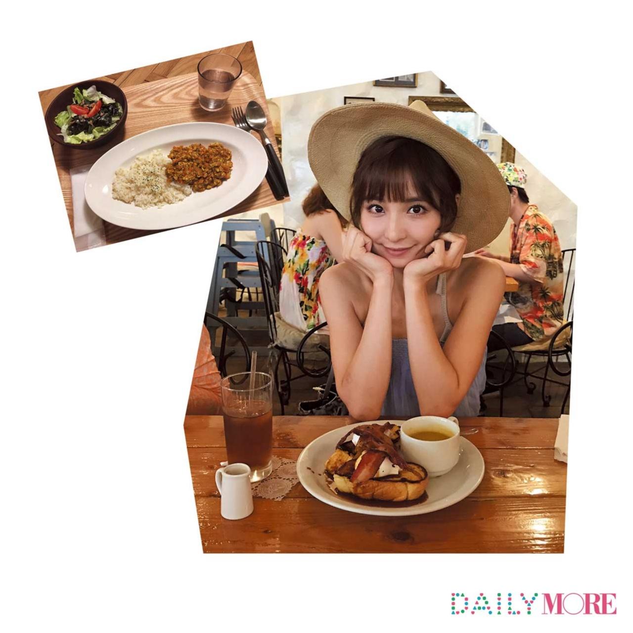 【篠田麻里子のデジレポ。】朝から元気の秘密は、あま~いフレンチトーストとスパイシーなカレー!_1