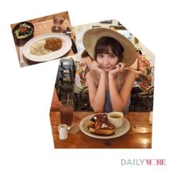 【篠田麻里子のデジレポ。】朝から元気の秘密は、あま~いフレンチトーストとスパイシーなカレー!