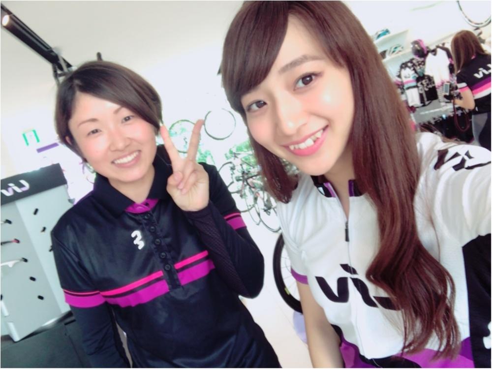ウエア選びは……世界初!!女性のための自転車ブランド『Liv』で✨【#モアチャレ ほなみ】_4