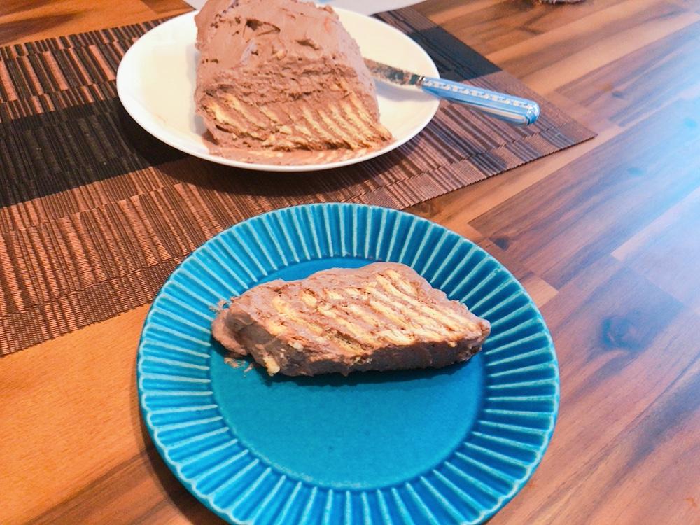 【なかしましほさんレシピ】ビスケットケーキを再現_4