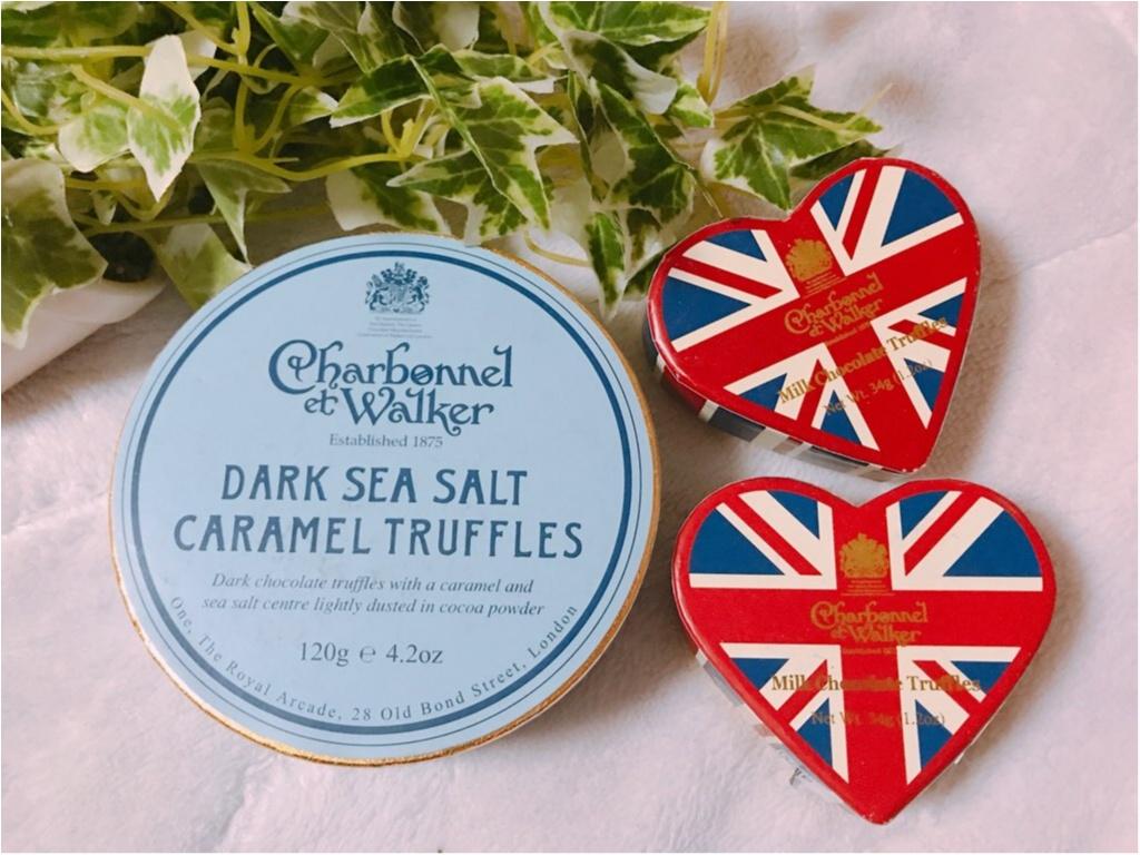 《英国王室御用達》イギリスのチョコレートと言えばコレ★エリザベス女王も愛するチョコレート専門店【Charbonnel et Walker】_1