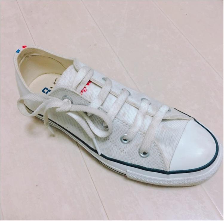 《やっぱり大好きコンバース♡》靴紐の結び方を変えて一味違う履き方してみませんか?_3