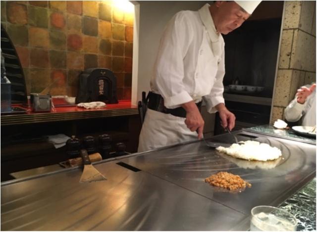 記念日にぜひ❤️シェフが目の前で焼いてくれる夢の鉄板焼フルコース!♡鮑にフォアグラに贅沢ディナー。_13