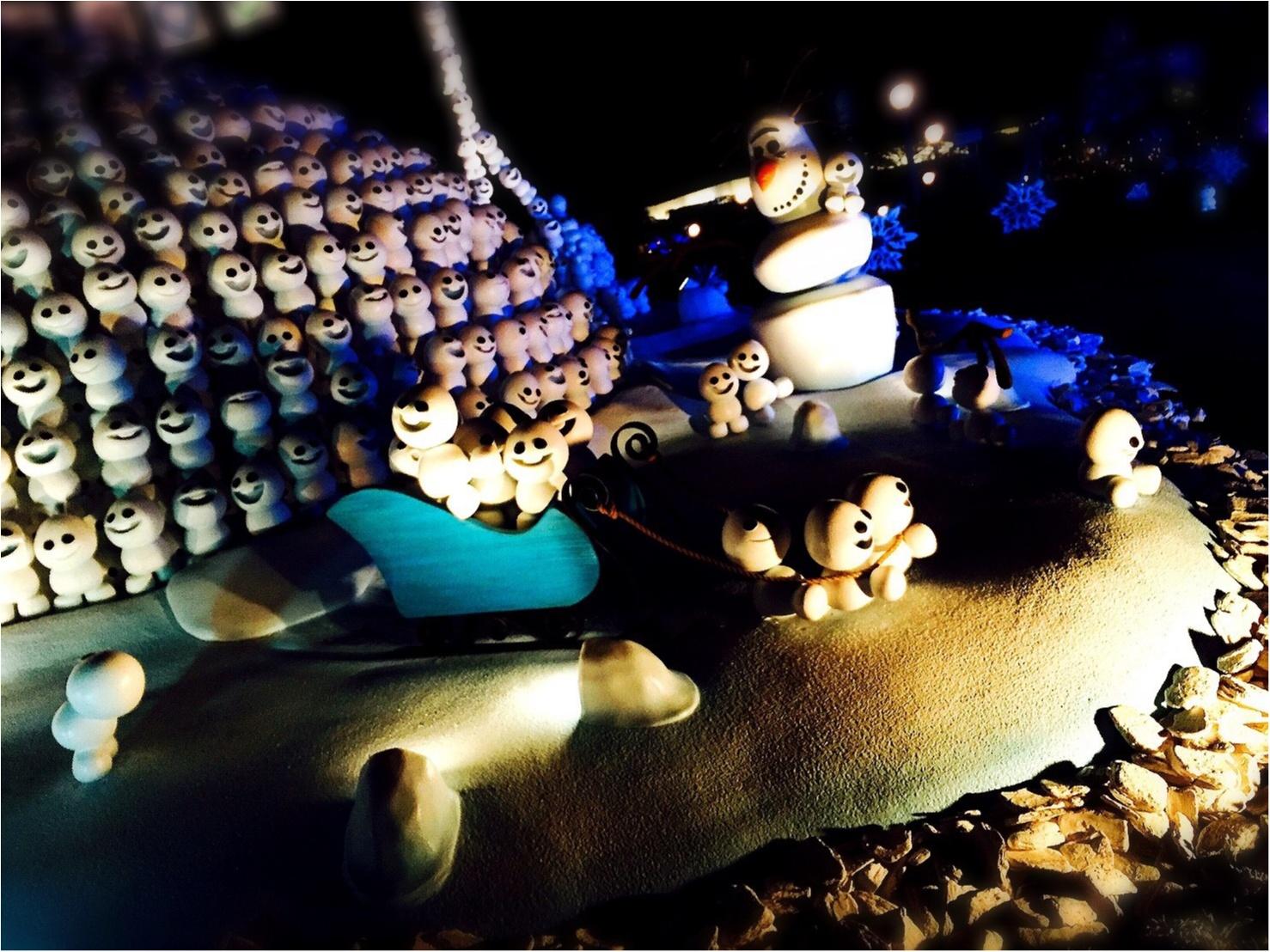 会社あがりでも十分満喫!平日ディズニー♡アナ雪のプロジェクションマッピングみてきました!_1