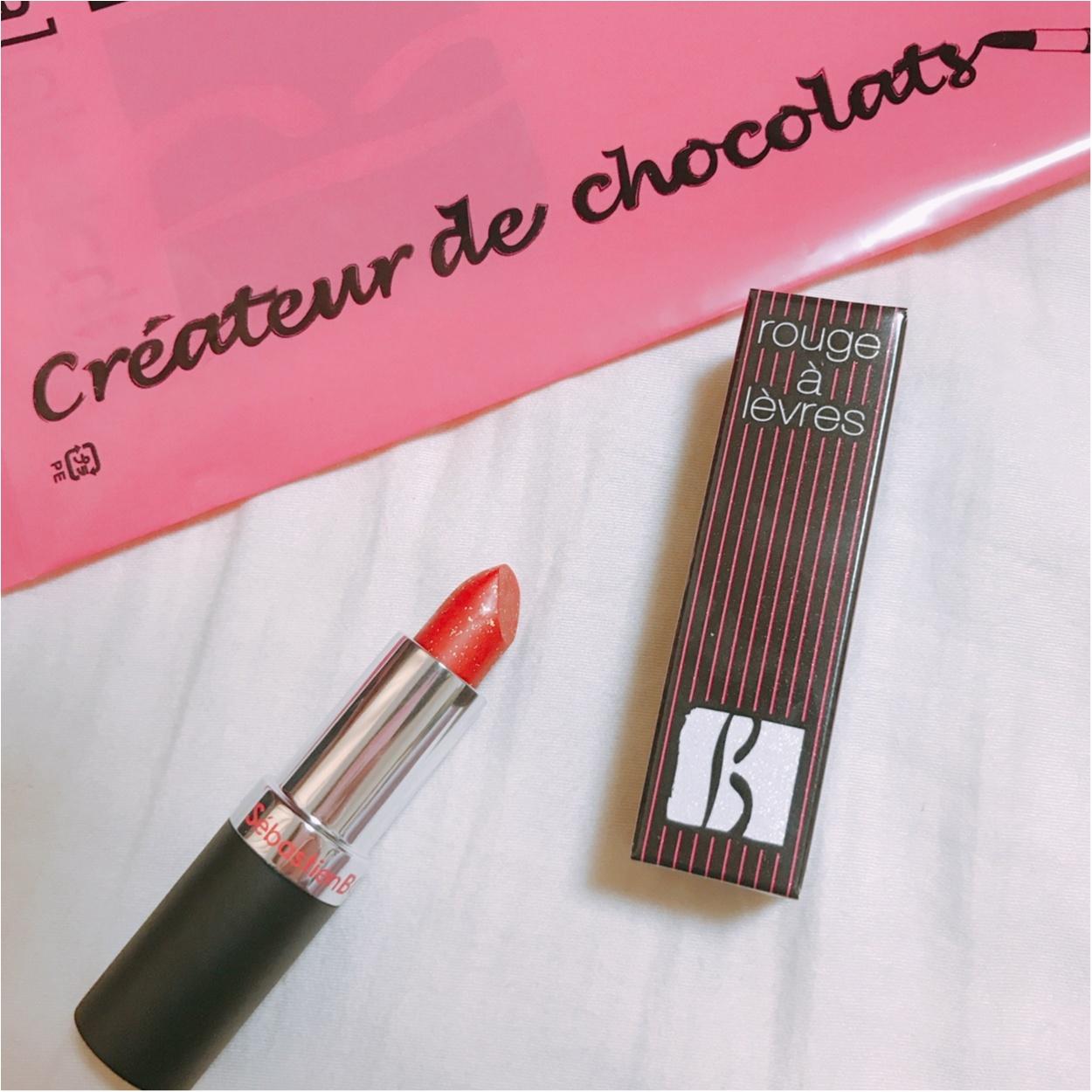 【食べられるリップ!?】実はこれ、チョコレートなんですっ♡_2