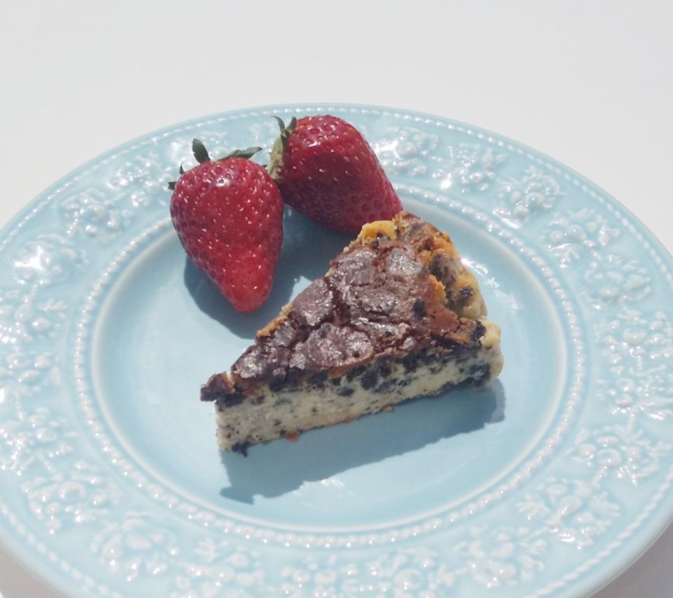 【簡単美味しい】クッキークリームverのバスクチーズケーキを作ってみました!_1