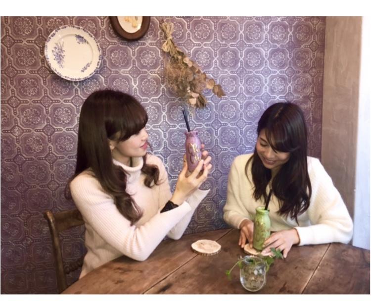 【CAFE】#恵比寿カフェ 可愛いスムージー♡実はこのお店、〇〇なんです!!_1
