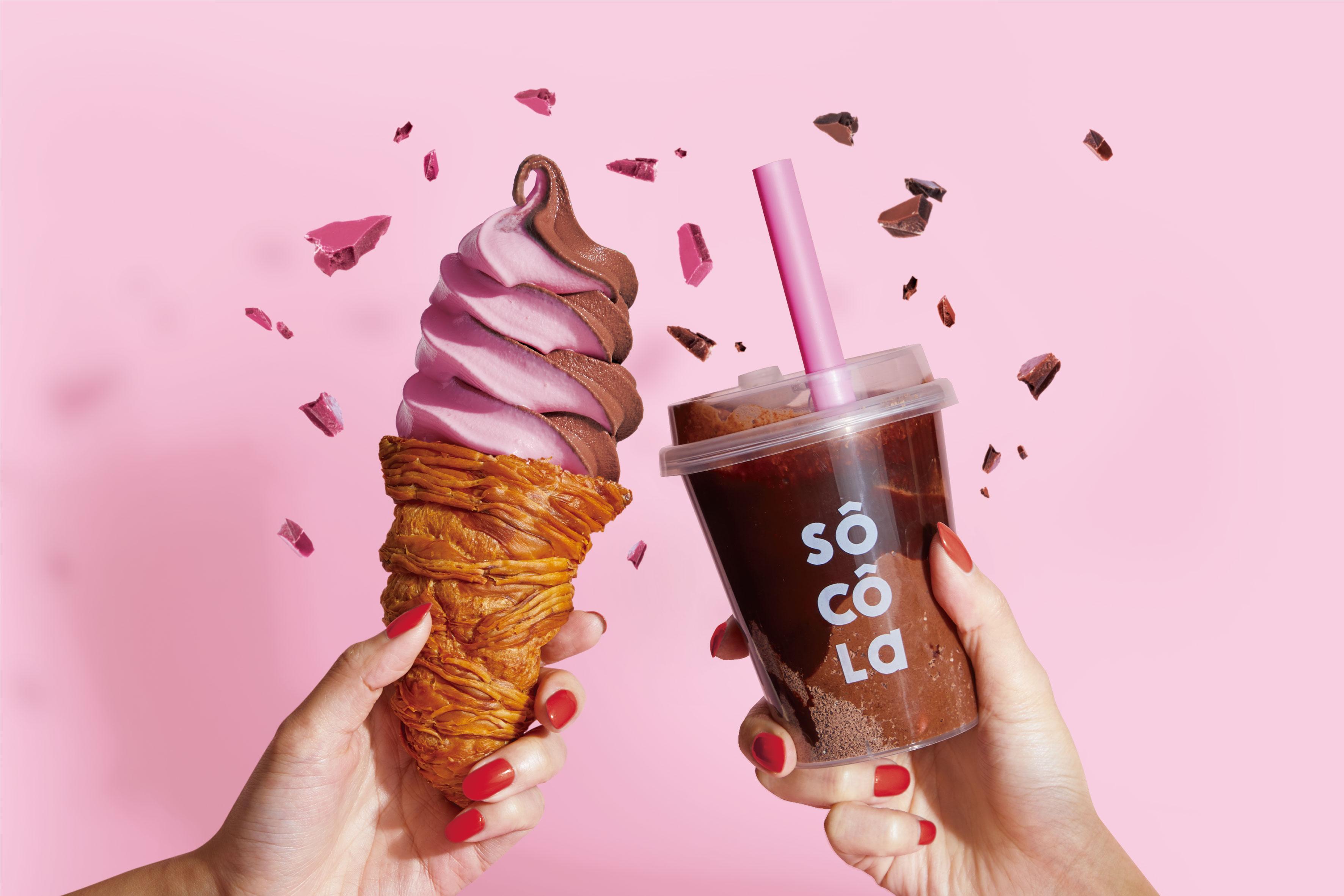 大阪「なんばCITY本館」に濃厚チョコレート専門店『ソコラ』がオープン! ソフトクリームもスムージーも絶対に食べたい♡_1