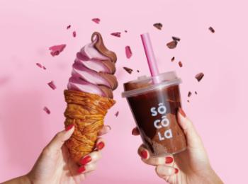 大阪「なんばCITY本館」に濃厚チョコレート専門店『ソコラ』がオープン! ソフトクリームもスムージーも絶対に食べたい♡