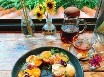 【おすすめカフェ】《季節のお花》に囲まれたしあわせ空間♡