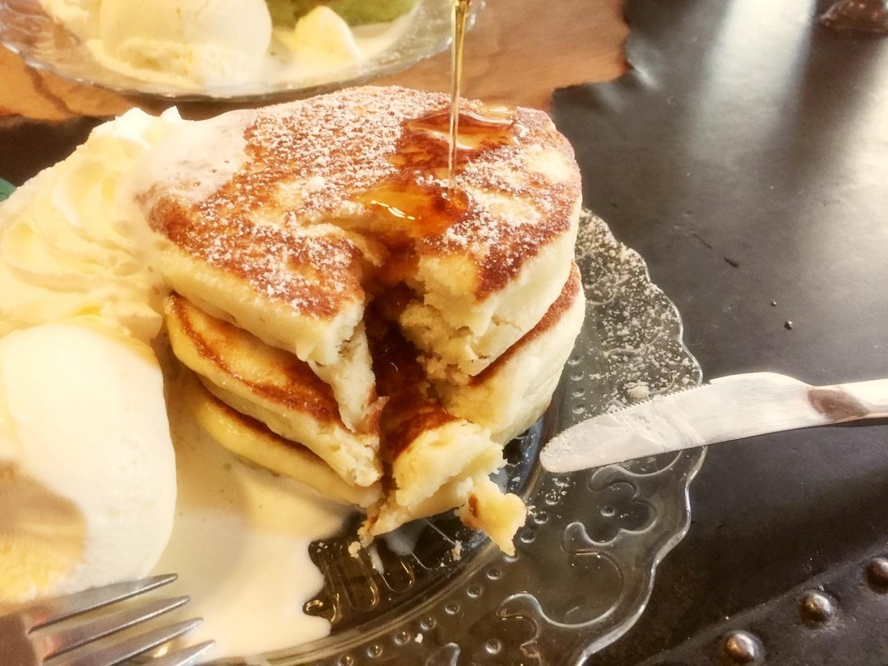 鎌倉の古民家カフェでパンケーキ♡*《mikiのパンケーキメモ》_4