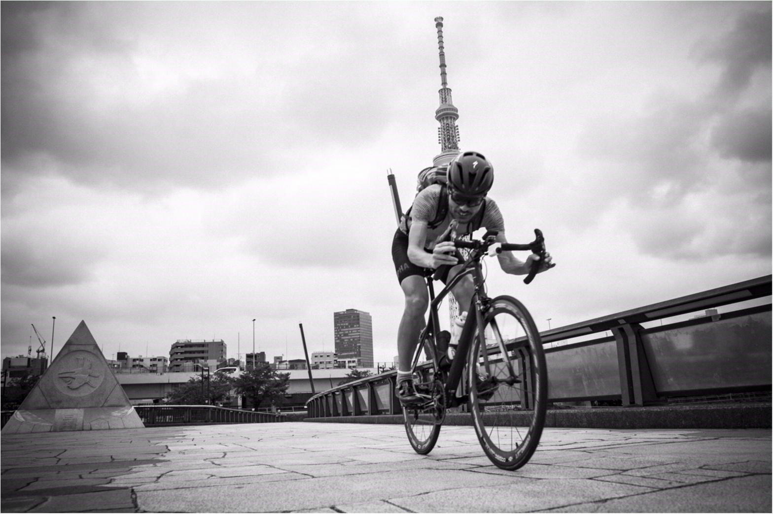 東京の名所巡り!ロードバイクですいすいお散歩♪  #ツール・ド・東北【#モアチャレ あかね】_4