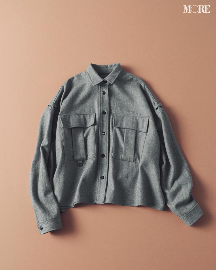 『ZARA』もラインアップ! トレンドど真ん中のシャツジャケットはこの6ブランドから選んでみて!_6