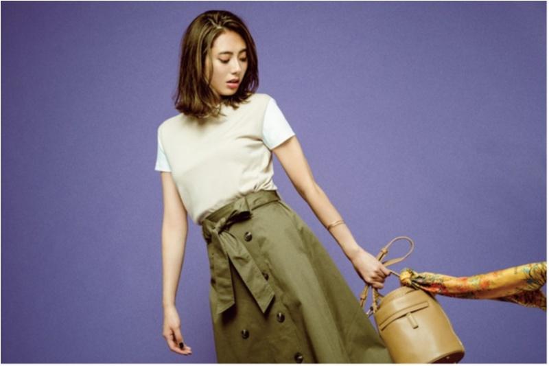 ちょっと上のおしゃれも目指せる! 旬の【トレンチスカート】コーデ15選 | ファッション(2018年秋)4