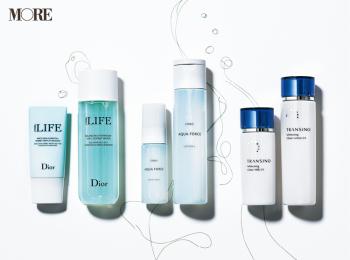 乾燥&テカリ混合肌の保湿には『オルビス』『トランシーノ』『Dior』。テカリ部分が改善する塗り方をマスターしよう♪