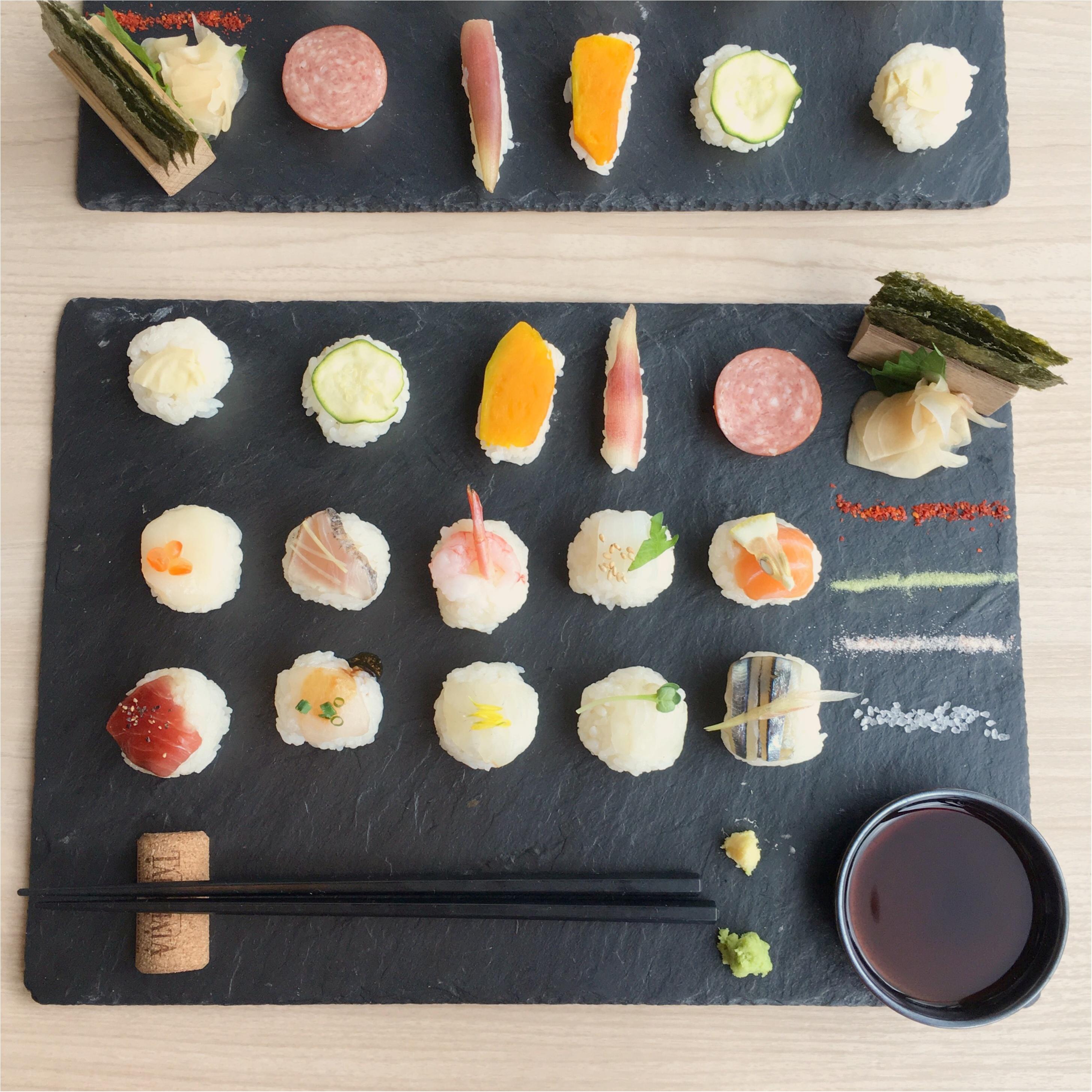 インスタ映え間違いなし!可愛すぎる♡♡フォトジェニックな手まり寿司はいかが?_7
