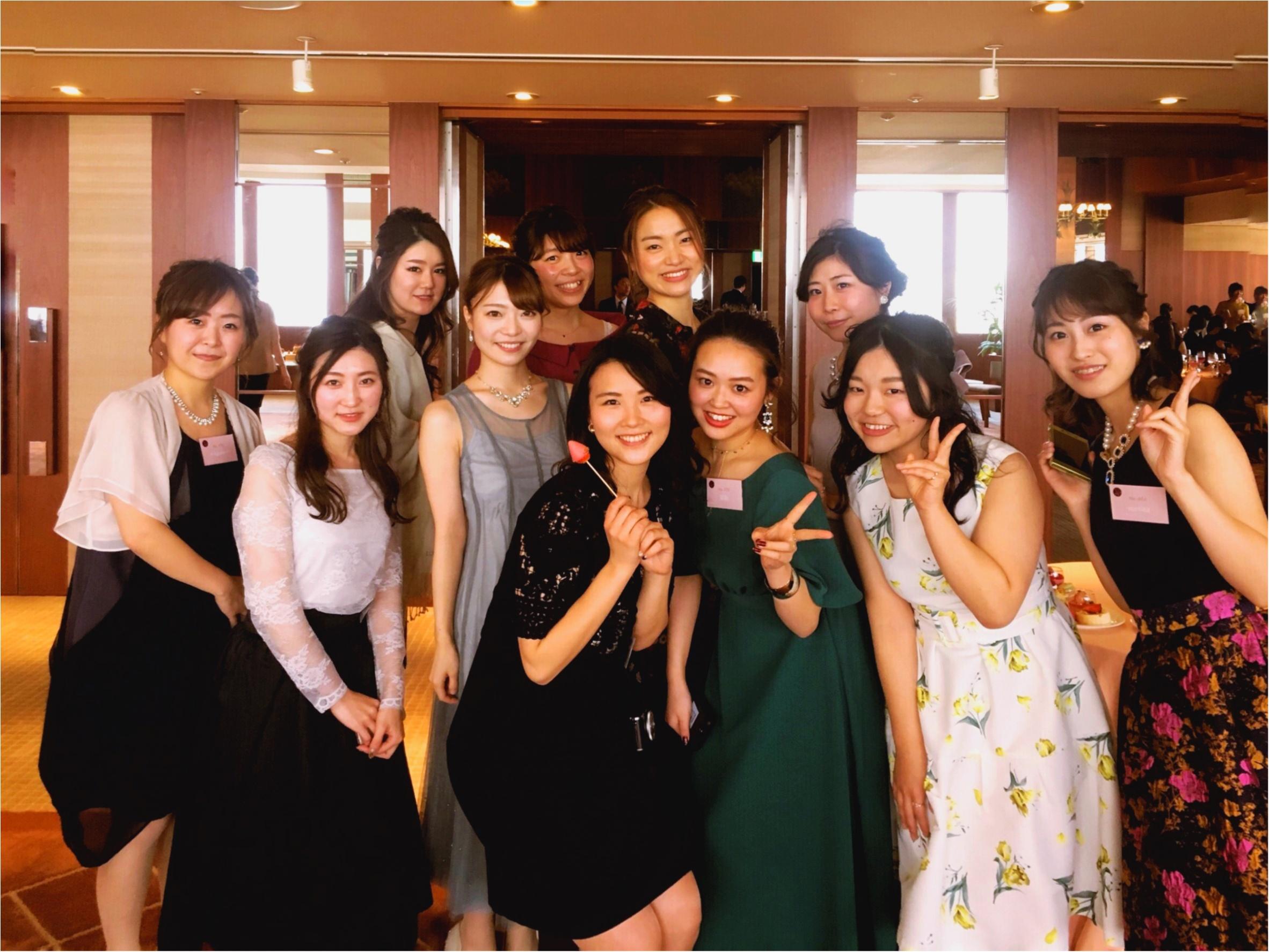 【MORE大女子会2018】レポ①モアハピ部大集合の華やかな大女子会✩ドレスアップした美女たち♡_1
