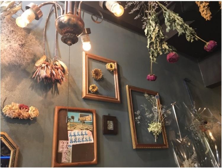 【FOOD】池袋にフォトジェニックなCafe&Barが登場♡ドライフラワーが素敵なHANABAR_2