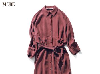 『ZARA』の6355円のシャツワンピースで小顔見え! その着回し力を立証!photoGallery