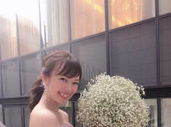 2019年5月12日《母の日》に結婚式を挙げました!