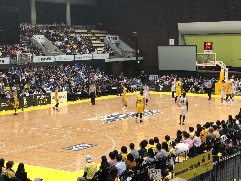 Bリーグ《サンロッカーズ渋谷》の試合観戦してきました!チームカラーを取り入れたコーディネートで❤︎_2