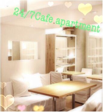 白と木材を基調としたニュートラルな空間でカフェTIME♪《24/7Cafe apartment》で食べれる美味しいフレンチトースト♡_1