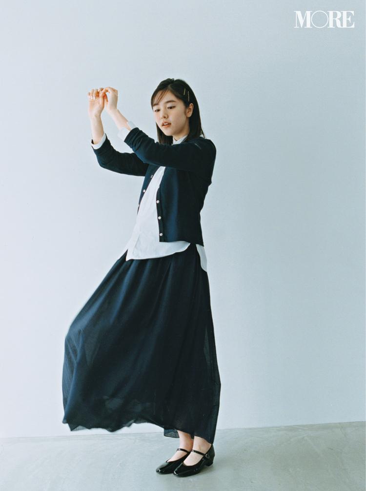 ロング丈スカート、正解バランス最新版! 今っぽくはくにはどうしたらいいの?_1_1