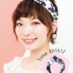 【美容師梅雨ヘアアレンジ】(4) 短めヘアをレスキュー ターバンアレンジ