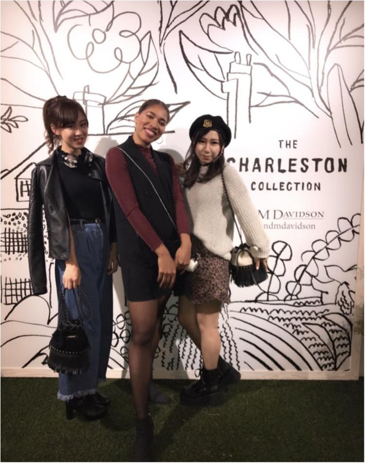 【PARTY】J&M DAVIDSON Charleston Collection ローンチパーティーに行ってきました♡_2