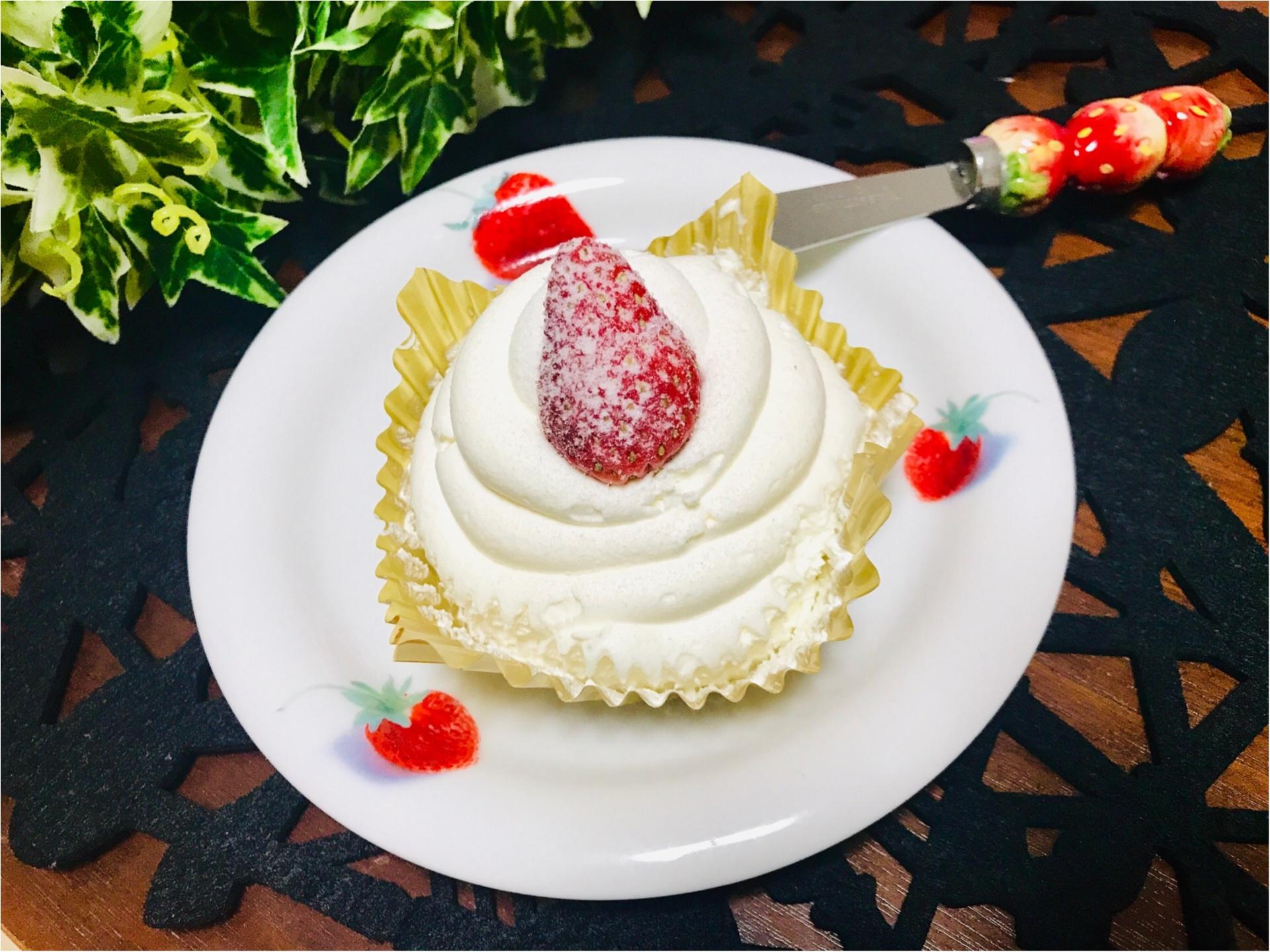 【ローソン】味は本格級★おひとりさま用《クリスマスケーキ》が可愛いすぎる♡_4