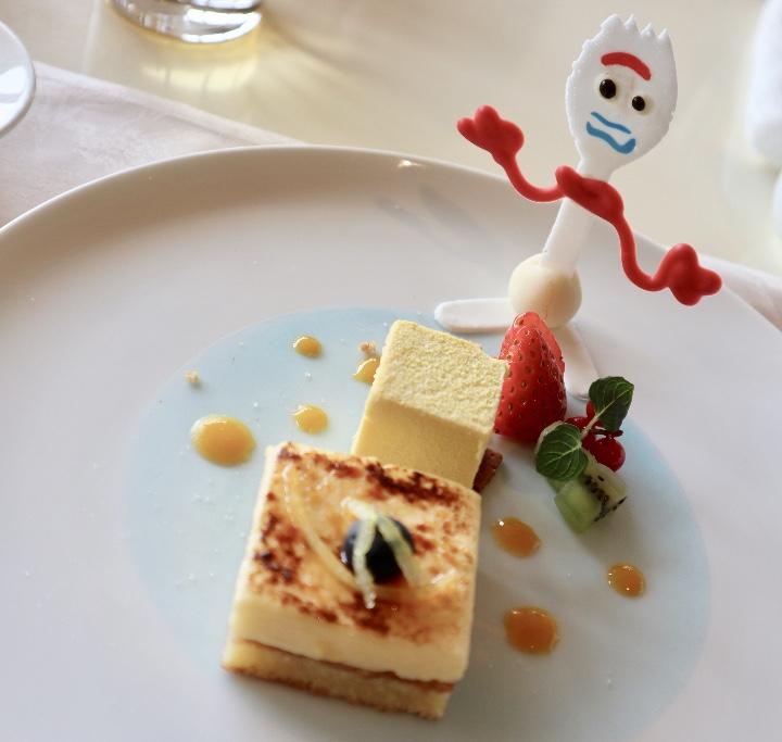 【TDS♡ホテルミラコスタ】今しか食べられない!ピクサーのご褒美ホテルランチ♡ _5