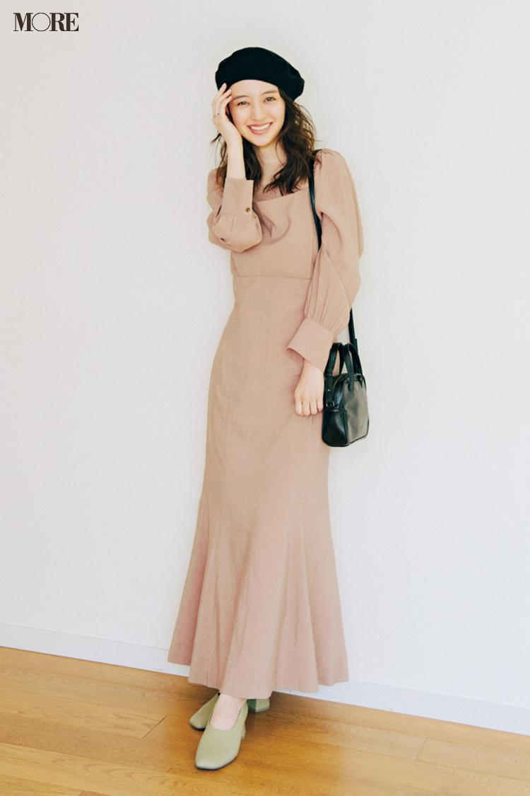 【今日のコーデ】<逢沢りな>理想のデート服、第一位♡秋の気配が漂う日に360°美シルエットなワンピース見つけたっ!_1