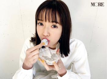 佐藤栞里、大福を食べる姿も可愛すぎ!【モデルのオフショット】