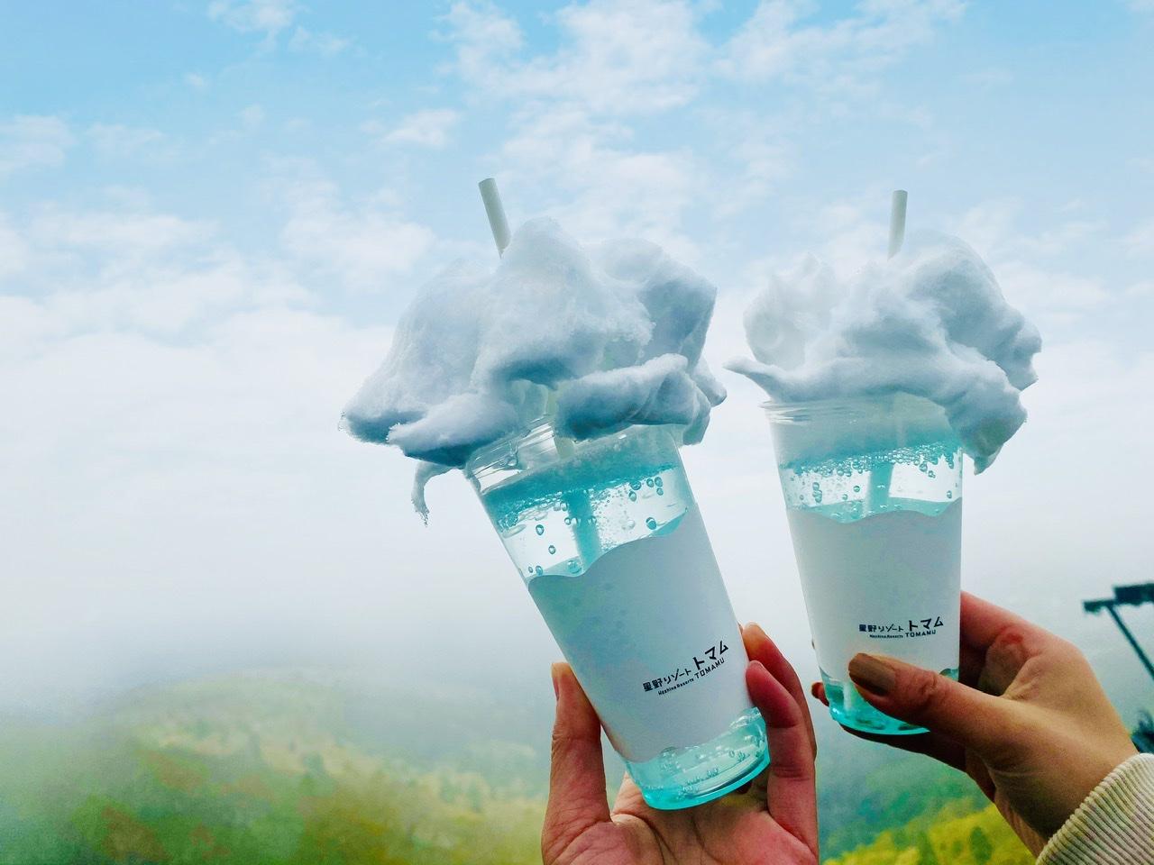 【星野リゾートトマム】天国に一番近いカフェ★ココでしか飲めない《雲海ソーダ》が可愛すぎ♡_3