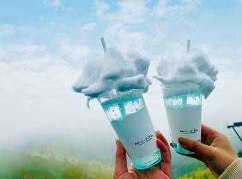 【星野リゾートトマム】天国に一番近いカフェ★ココでしか飲めない《雲海ソーダ》が可愛すぎ♡