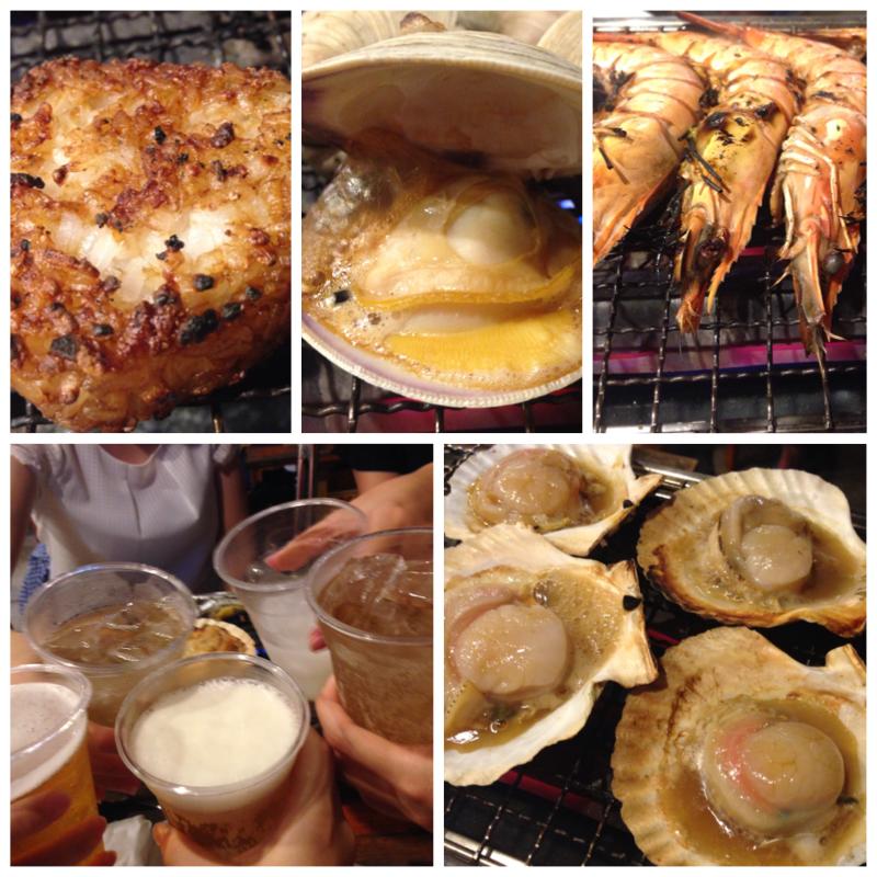 恵比寿で浜焼き❤️海鮮が美味しいビアガーデン★★★ _23