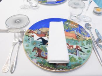 【大阪】エルメスの食器とクリストフルのカトラリーでいただくフレンチ「グランロシェ」でランチしてきた★お祝いやデート、女子会にもぴったり★【淀屋橋】