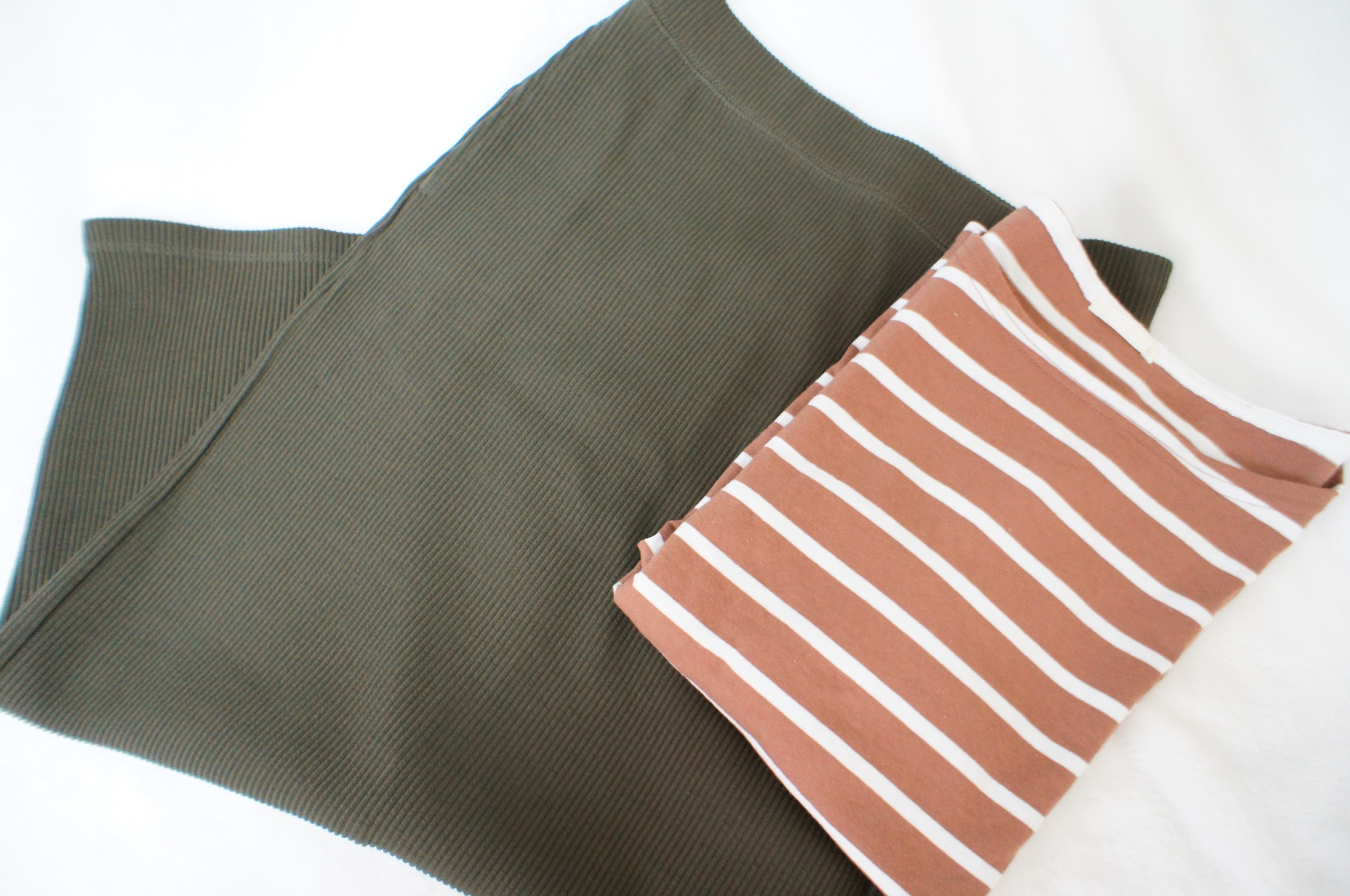 《#170cmトールガール》のプチプラコーデ❤️トレンド感たっぷり!【UNIQLO】リブタイトロングスカートが使える☻_3