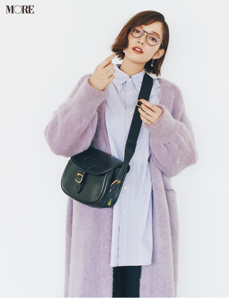『ユニクロ ユー』も採用♡ 20代後半女子がもこもこカーディガンを大人っぽく着るコツ_2