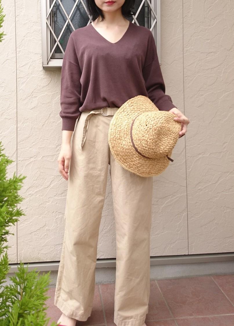 【OPAQUE.CLIP】夏まで着れる多機能・薄手ニットが優秀☆_3