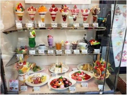♡桃をまるごと使った豪華パフェ【渋谷・西村フルーツパーラー】2300円♡モアハピ◡̈のぞみ♡_4