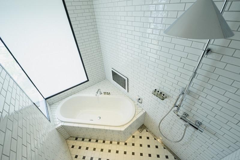 【東京のおしゃれなホテル】『恵比寿ホリックホテル』バスルーム