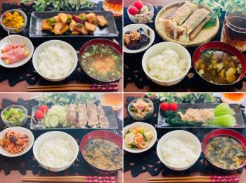 【今月のお家ごはん】アラサー女子の食卓!作り置きおかずでラク晩ご飯♡-Vol.32-